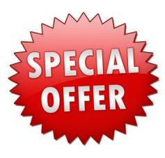 Check out our SPECIAL OFFERS!